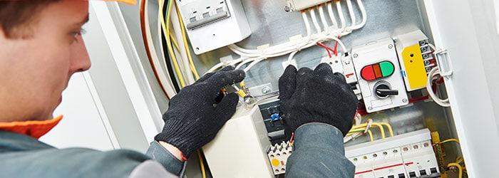 elektriciteit aanleggen Rijen